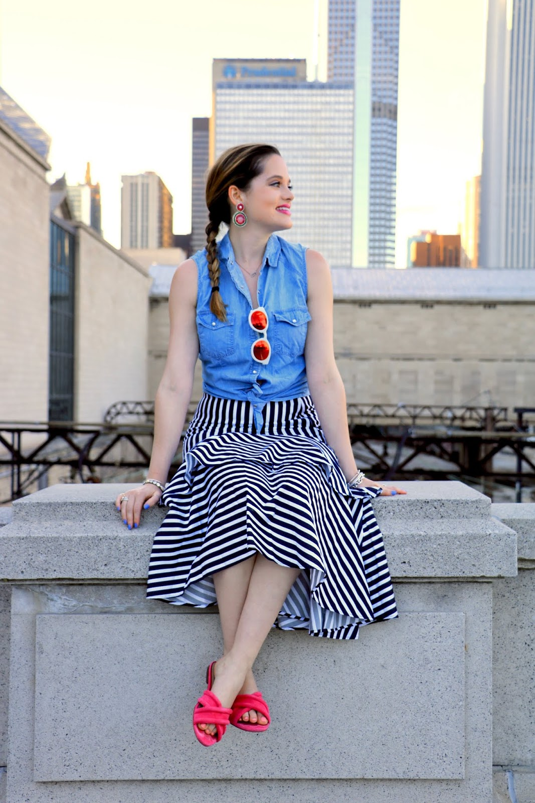 Chicago fashion blogger Kathleen Harper