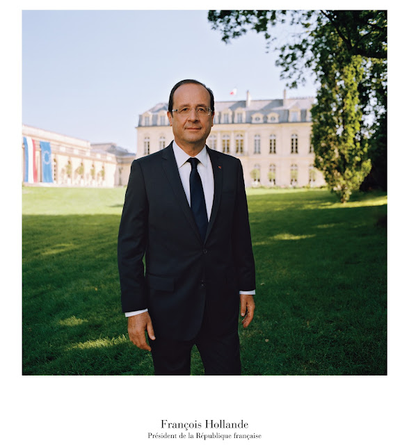 Portrait officiel du Président Hollande (2012)
