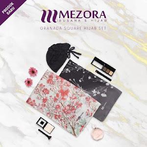 Mezora Granada Square Hijab Set