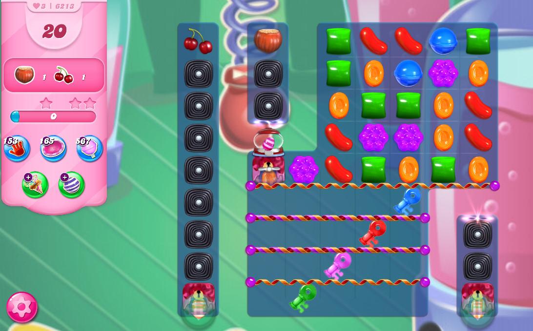 Candy Crush Saga level 6213