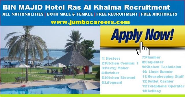 rak star hotel jobs uae, uae hotel job openings latest
