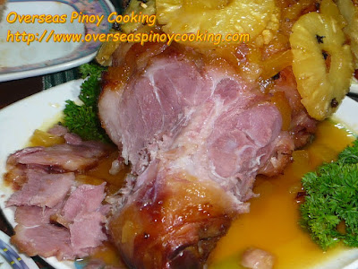Pinoy Style Easter Ham