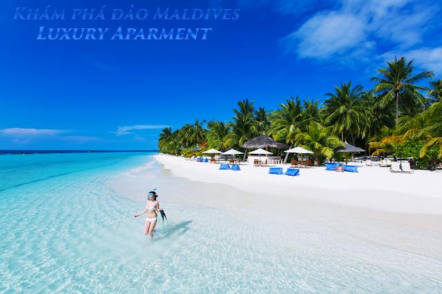 Khám phá đảo Maldives cùng Luxury Apartment