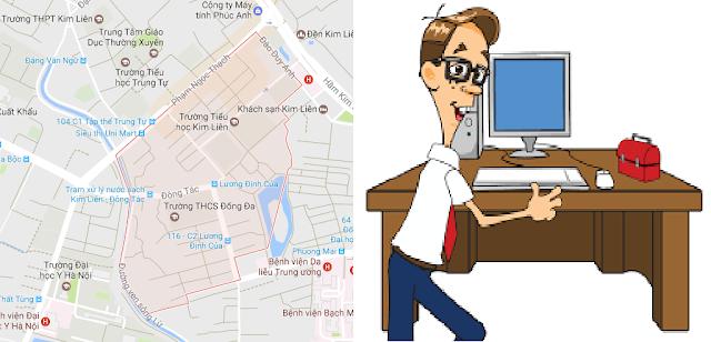 Sửa máy tính tại nhà tại Kim Liên, Hà Nội - Hotline 0983.738.566