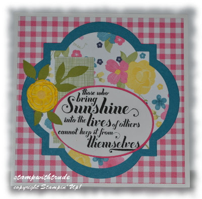 Stamp with Trude, Stampin' Up!, greeting card