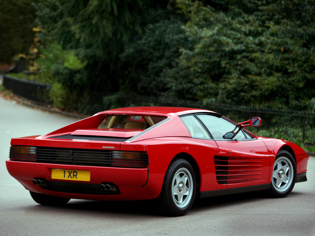 1985 ferrari testarossa wallpaper - photo #32