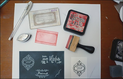 chalkboard embellishments tutorial