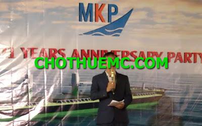 MC LE NGOC TO CHUC GALA DINNER