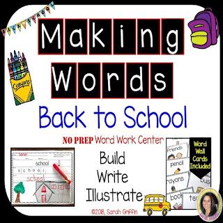 https://www.teacherspayteachers.com/Product/Making-Words-BACK-TO-SCHOOL-Writing-Center-295111