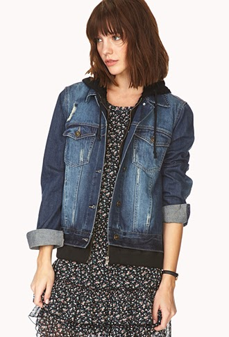 80485b1030689 Forever 21 Cool Distressed Jacket