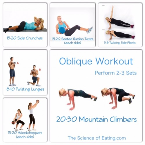 SHREDDED OBLIQUE WORKOUT | Top Health Remedies