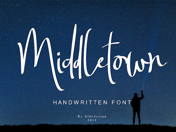 Middletown Signature Font Free Download