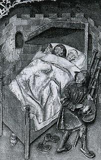 Peregrinos en una cama. Lacasamundo.com
