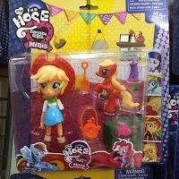 Fake MLP Equestria Girls Minis Applejack Figure