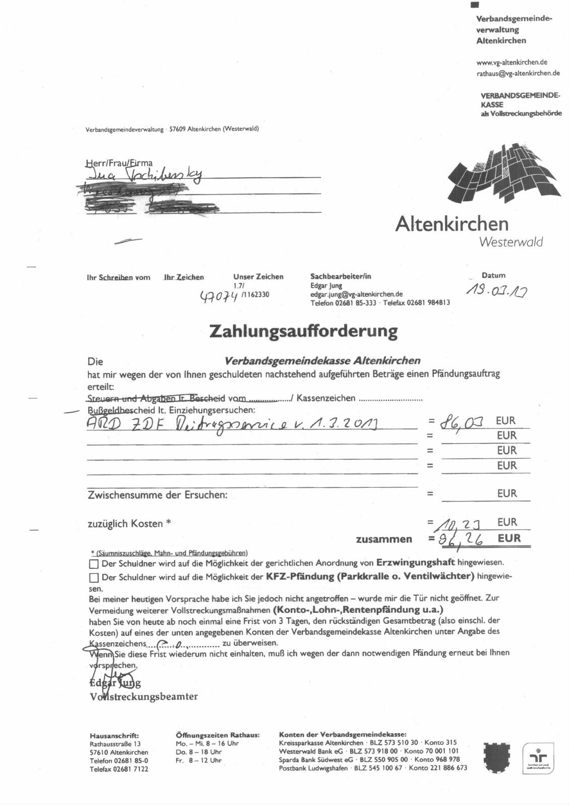 Hausverbot Erteilen Musterbrief