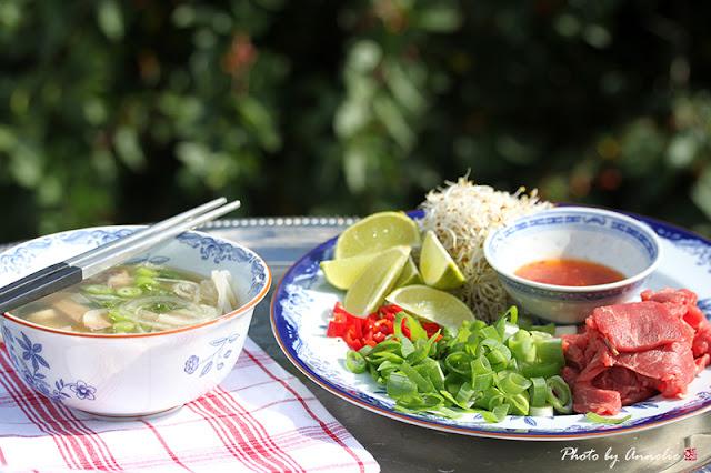 Pho - köttsoppa från Vietnam