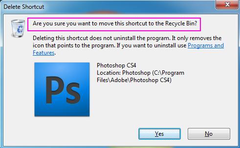 buka aplikasi di desktop minta dihapus