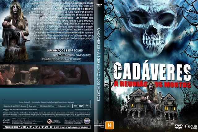Cadáveres A Reunião dos Mortos DVD-R