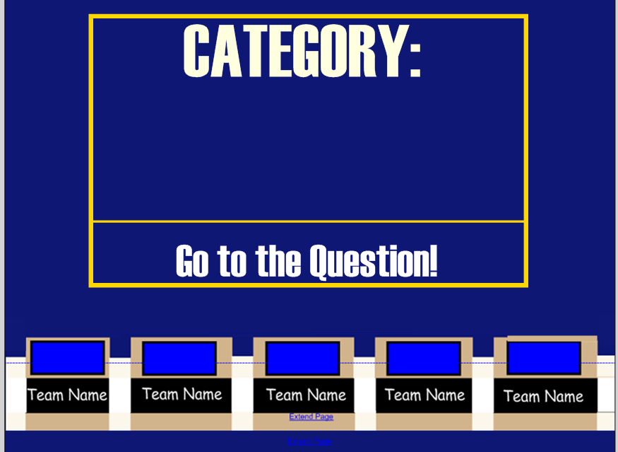 Power Point Jeopardy Template download the best free jeopardy – Jeopardy Powerpoint Template