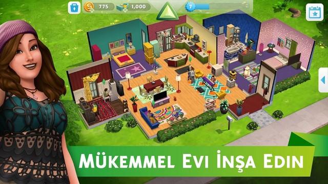 the sims mobil hieli apk indir