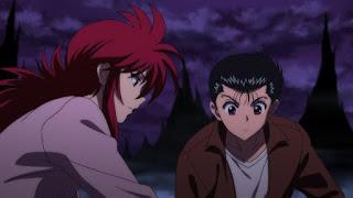 Yusuke Detetive Sobrenatural Kurama