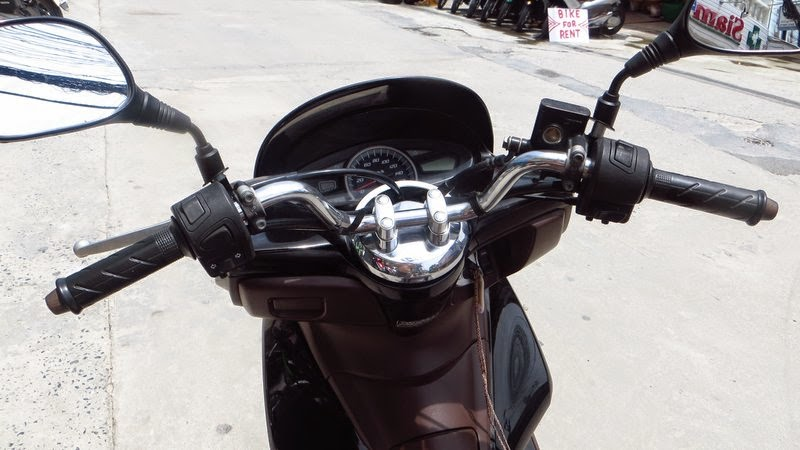 Руль, панель приборов PCX 125