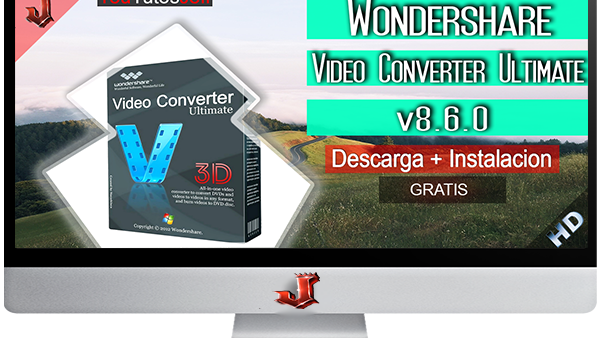 Wondershare Video Converter Ultimate v8.6.0 FULL ESPAÑOL | 2016
