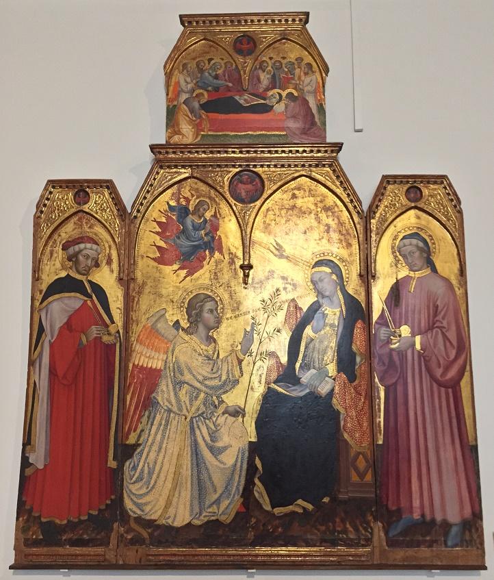 Le Muse : TADDEO DI BARTOLO: Annunciazione di Maria ...