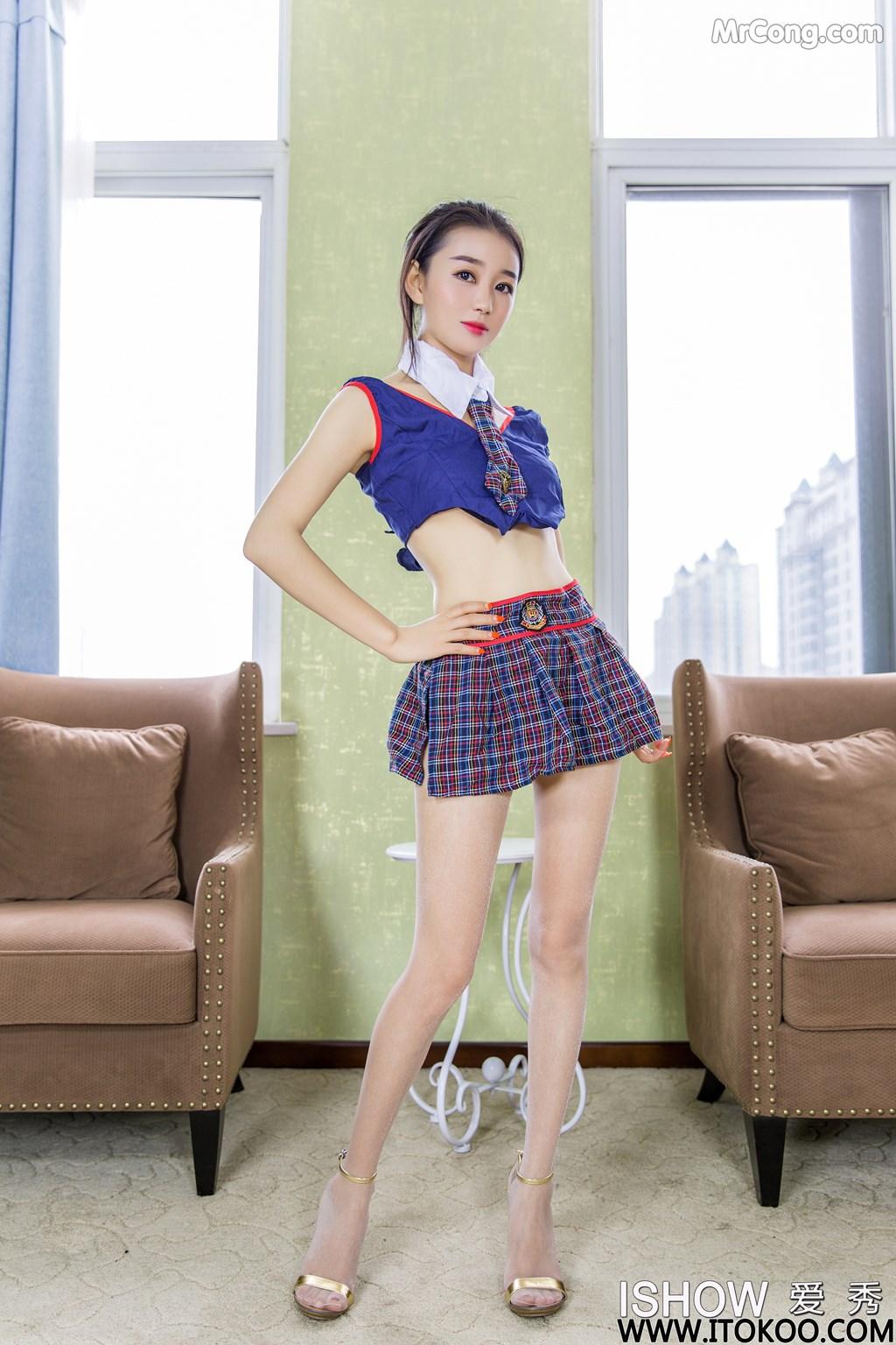 Image ISHOW-No.180-Xiao-Fan-MrCong.com-001 in post ISHOW No.180: Người mẫu Xiao Fan (小凡) (31 ảnh)
