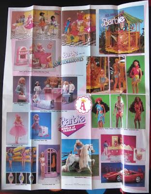 Какие игрушки Barbie выпускались фирмой Mattel в 1988 году