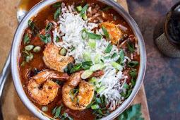 big easy style saucy creole shrimp