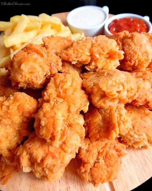 Domowe Bites jak z KFC - Przepis - Słodka Strona