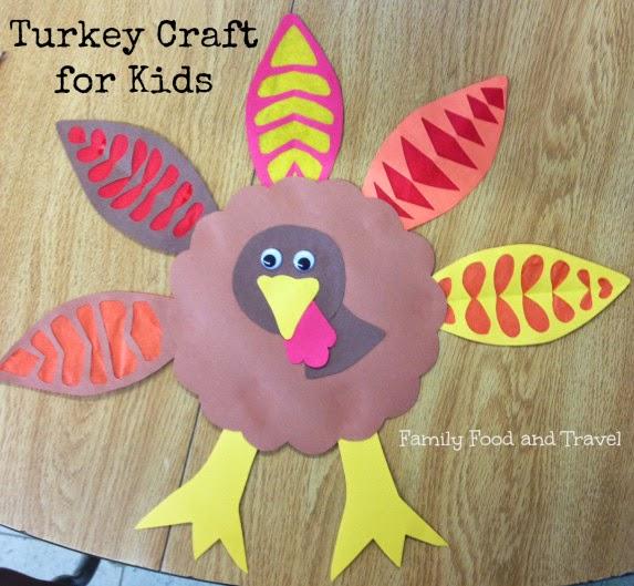 Toddler Thankful Craft No Turkey