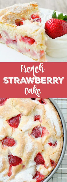 This French Strawberry Cake volition endure your novel favorite summertime process How To Makes FRENCH STRAWBERRY CAKE