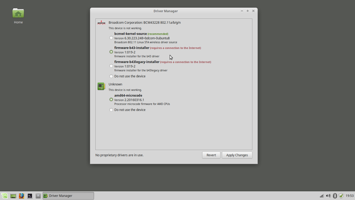 B43 LINUX MINT DRIVER DOWNLOAD FREE