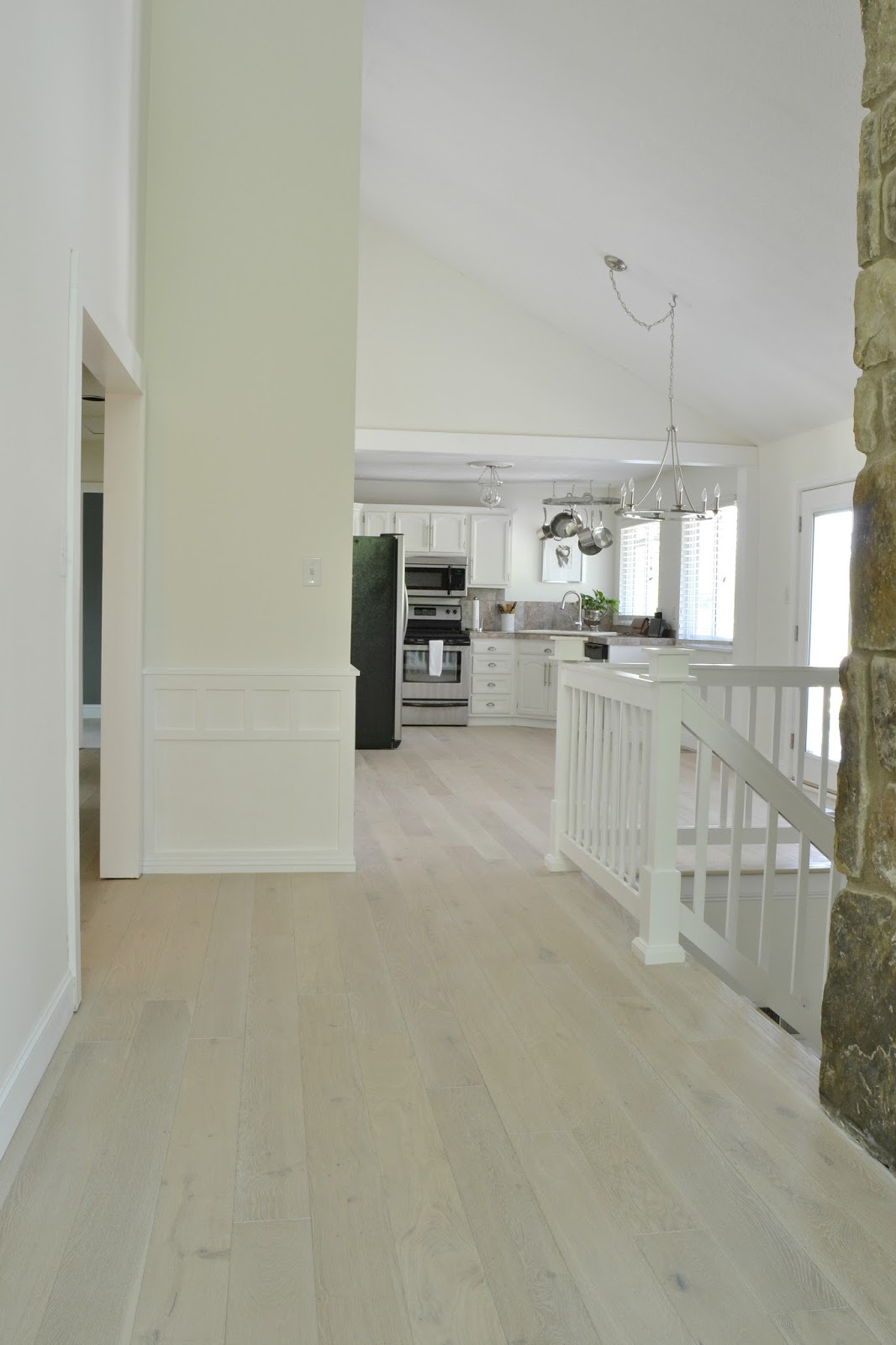 Our New WhiteWashed Hardwood Flooring and why we had to