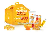 Logo ''Il Momento Crodino 2019'' : vinci 306 Kit Aperitivo Aperibox con confezioni Crodino, San Carlo, bicchieri ecc