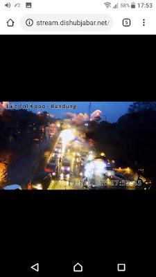Cara Streaming Lalu - lintas dari CCTV DISHUB JABAR