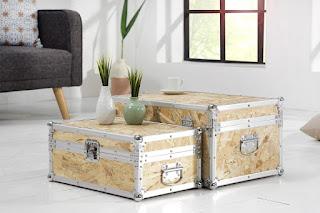 Zajímavá sada kufříků.