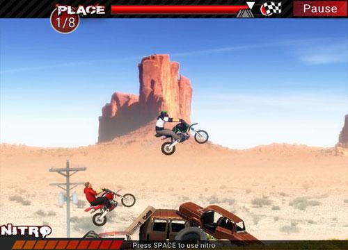 لعبة الدراجات الترابية Dirt Bikes Super Racing