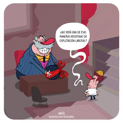 modos de explotación laboral, Humor Carolo, Jarúl, Humor gráfico dominicano, yosoyjarul, jarúl ortega, jarul, barriga creativa, humor carolo,