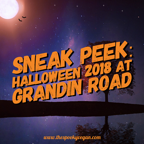 grandin road has unveiled their halloween haven collection for 2018 i love browsing their halloween items though ive never purchased anything from them