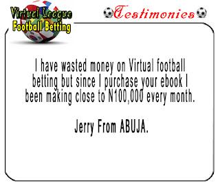 Virtual football betting secret 2019