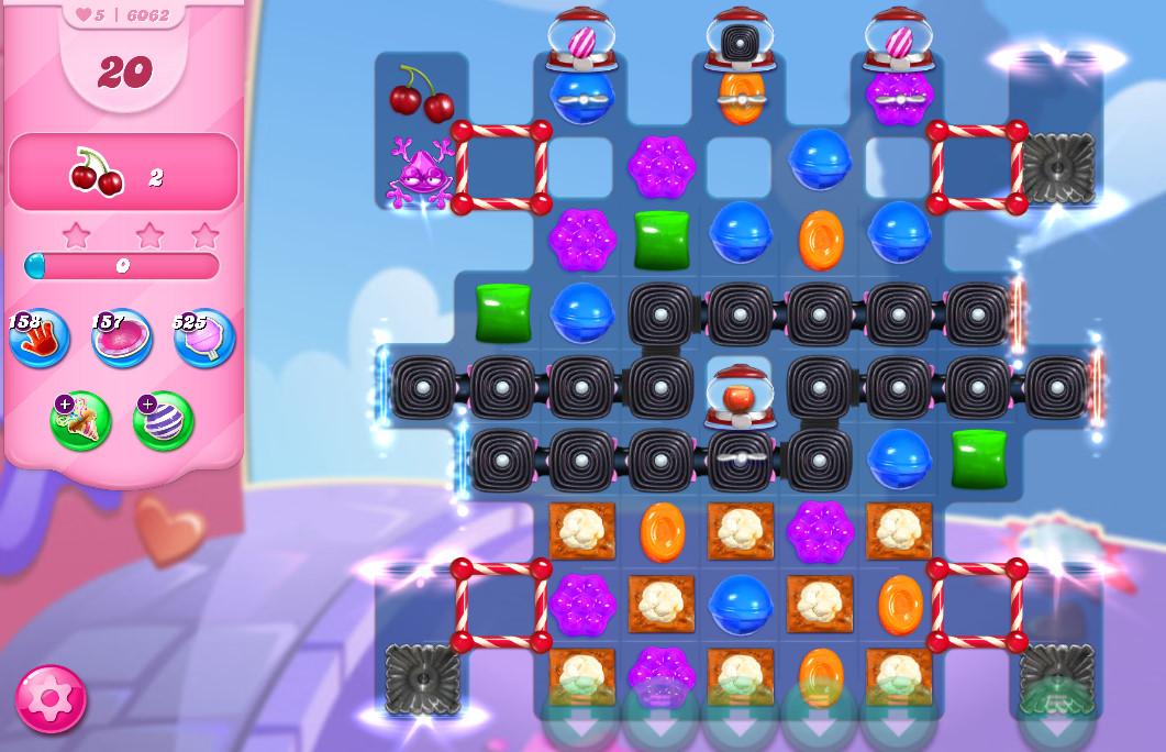 Candy Crush Saga level 6062