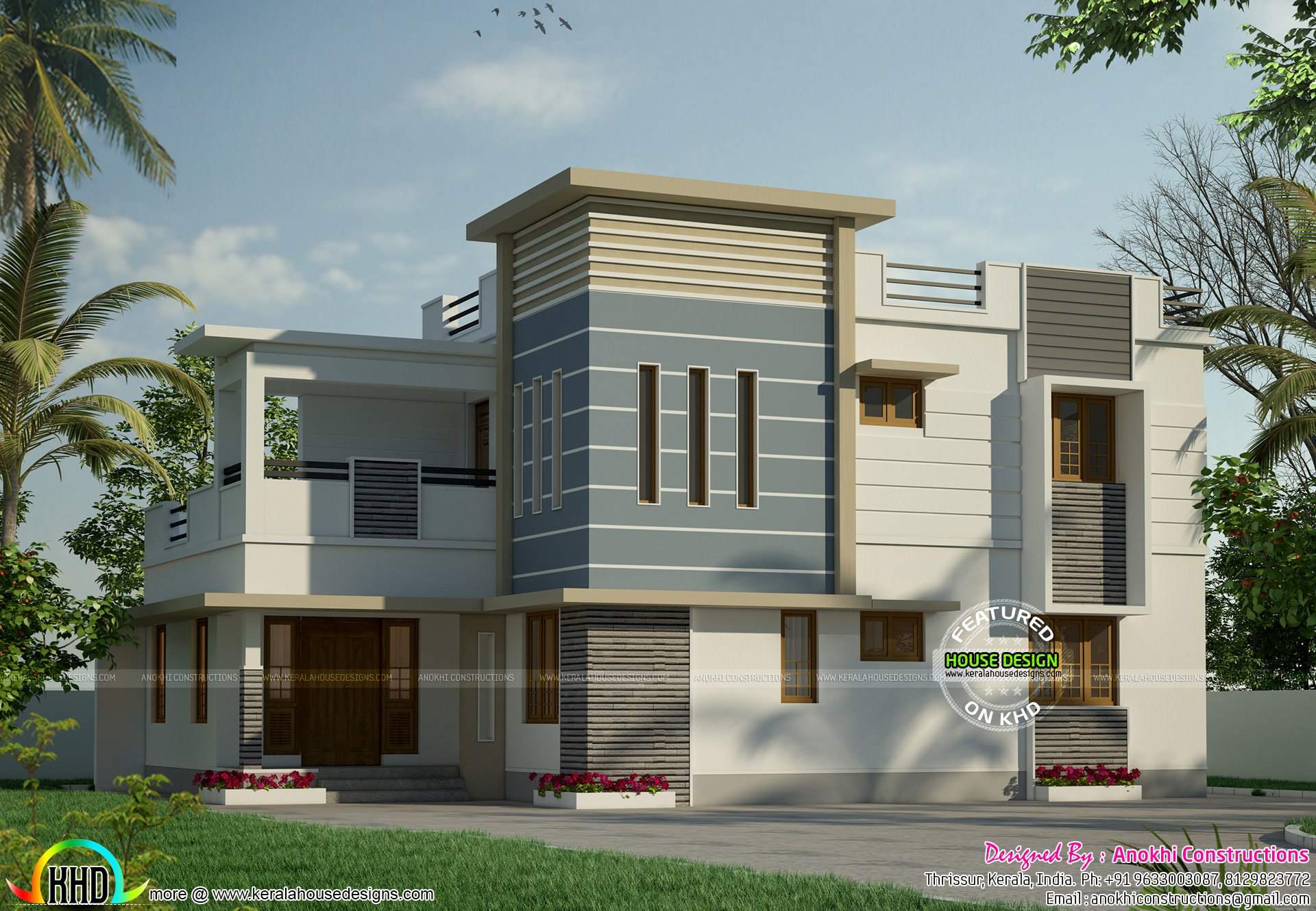 modern house for 31 lakhs kerala home design and floor plans