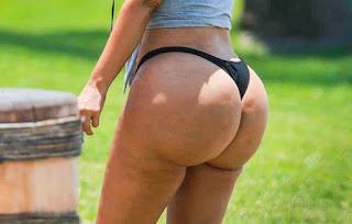 Shamed Kim Kardashian's butt too big