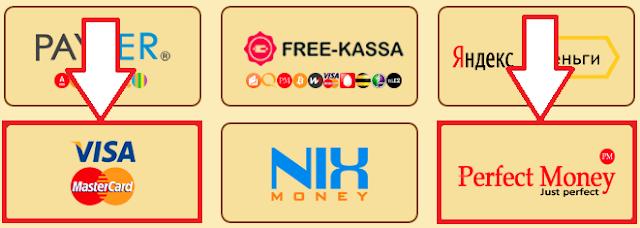 В игре golden-chickens.com подключили Perfect Money и банковские карты