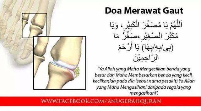 Doa Merawat Gout