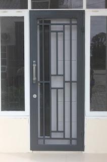 10 Model Terbaru Teralis pintu Minimalis Inspiratip Rumah Masa Kini 6