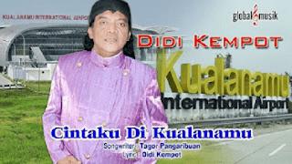 Lirik Lagu Cintaku Di Kualanamu - Didi Kempot